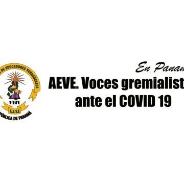 AEVE. Voces gremialistas ante el COVID 19