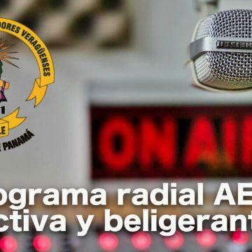 Programa de Radio # 32 / 2020: AEVE, activa y beligerante