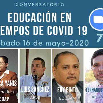 EN DIRECTO: Conferencia Educación en tiempo de COVID 19