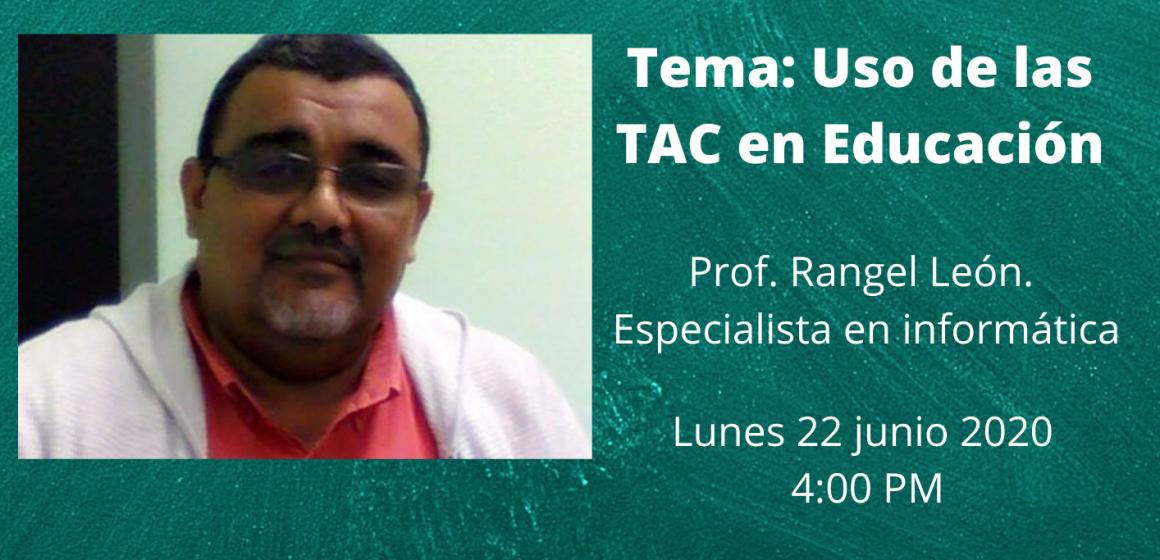 Conferencia virtual: Uso de las TAC en Educación