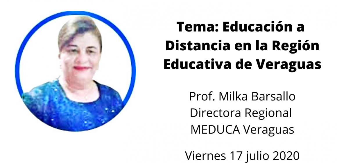 Conversatorio Virtual: Educación a Distancia en Veraguas