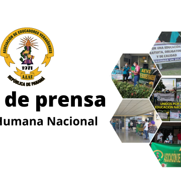 Nota de Prensa. Cadena Humana Nacional