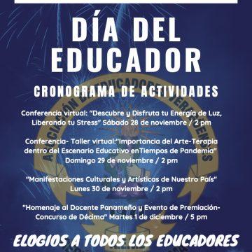 Actividades en el Día del Educador