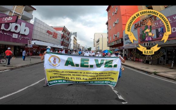 Resumen de la Marcha Nacional por la Educación en Panamá
