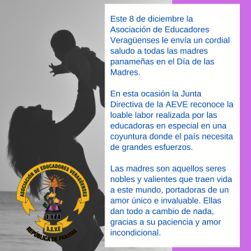 Felicidades a todas la madres…