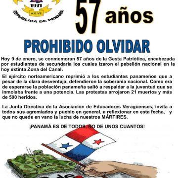 57 años de la Gesta Patriótica