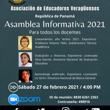 Asamblea Informativa 2021