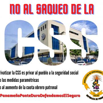 Privatizar la CSS es privar al pueblo a la seguridad social