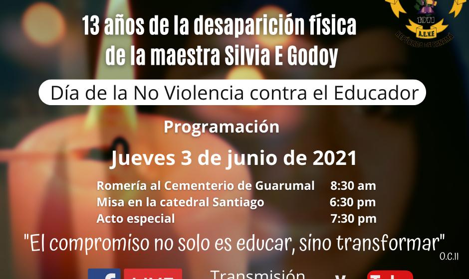 13 años de la desaparición física de la maestra Silvia E Godoy