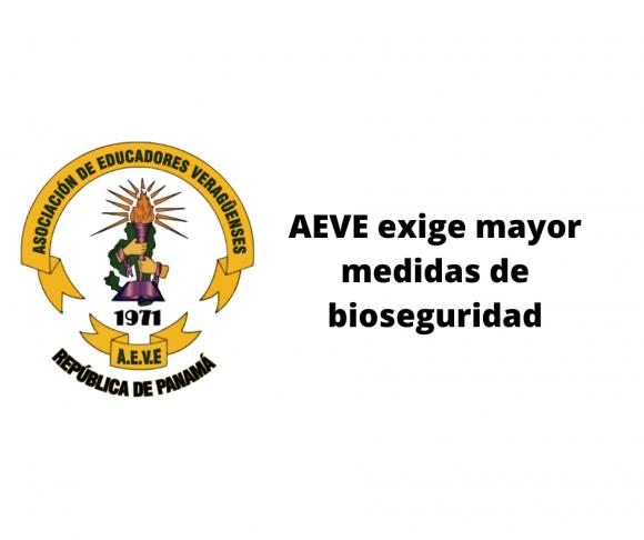 AEVE exige mayor medidas de bioseguridad