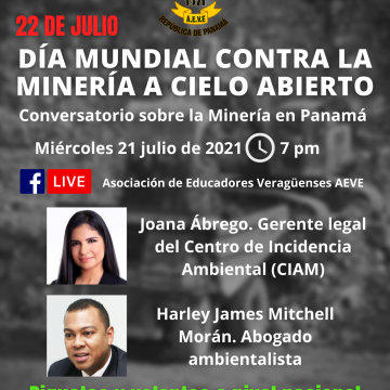 Conversatorio sobre la Minería en Panamá