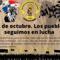 12 de octubre. Los pueblos seguimos en lucha
